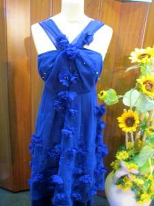 Abito Blu realizzato al corso di modellistica e sartoria a Padova